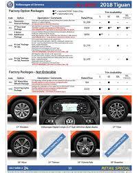 2018 volkswagen order guide. wonderful volkswagen 2018 tiguan order guide on volkswagen order guide u