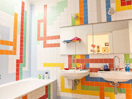 Kids Bathroom Tile Bathroom 7 Fun And Creative Bathroom Tile Designs Guest Bathroom