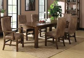 distressed dining room table distressed leather dining room chairs distressed leather dining room chairs interior decor