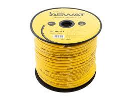 <b>Силовой кабель SWAT SCW</b>-<b>4Y</b> (4 Ga)