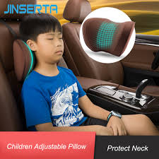 JINSERTA Adjustable <b>Car Child</b> Headrest Travel Neck <b>Pillow Car</b> ...