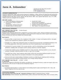 Sql Server Experience Resumes Database Administrator Resume Sample Best Resume Template