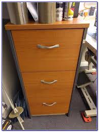 Lockable Bedroom Furniture 3 Drawer Lockable Wooden Filing Cabinet Cabinet Home Furniture