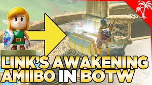 What Happens If You Scan Links Awakening Amiibo In Breath Of The Wild