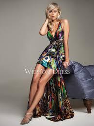 Graceful Multi-color V-neck Sleeveless Empire Crisscross Apple Hourglass  elegant cocktail dresses