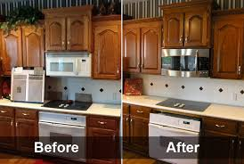 Refinishing Wood Kitchen Cabinets Custom Download Refinishing Golden Oak Kitchen Cabinets Donua