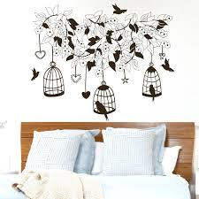 bird cage wall decal wall decal flower roses design decals for from on wall  decal flower . bird cage wall decal ...