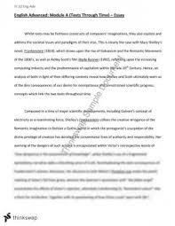 module a frankenstein bladerunner essay year hsc english mary shelley s frankenstein and ridley scott s bladerunner texts in time essay