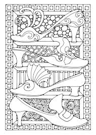Shoes coloring page from clothes and shoes category. Coloring Page Shoes Free Printable Coloring Pages Img 15814