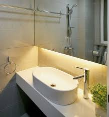 bathroom sink lighting. beautiful undercabinet bathroom lighting created by using warm white led strip lights http sink