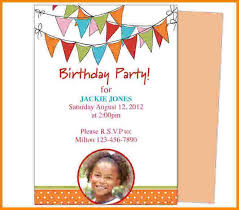 Microsoft Word Birthday Invitation Template Invitation Ideas Party