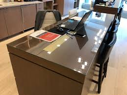 would you like to cover for your office table to protect the wooden base table office glass table tops custom cut glass tempered
