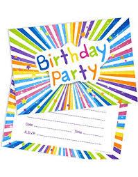 Kids Invitations Party Invitations Amazon Co Uk