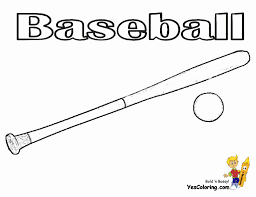 Small Picture Baseball Bat Coloring Pages businesswebsitestartercom