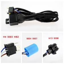 hid hi lo bi xenon relay harness wiring controller h4 9003 9004 hid hi lo bi xenon relay harness wiring controller h4 9003 9004 9007 h13 9008