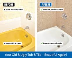 miracle bathtub. before and after bathtub resurfacing miracle