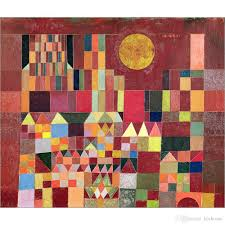 2018 abstract paintings castle and sun paul klee artwork oil on canvas hand painted from kixhome 101 51 dhgate com
