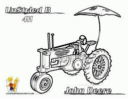 Small Picture Tractor Colouring In Pages John Deere Farm barn coloring pages