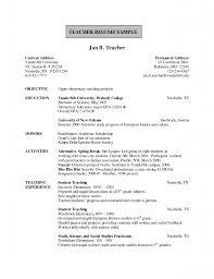 Resume For Computer Science Teacher Fresher Expert Event