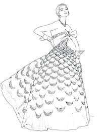 Free Fashion Coloring Pages Barbie Fashion Designer Coloring Pages