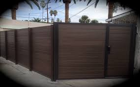 horizontal wood and metal fence. Plain And Custom Wooden Fencing Lakewood And Bellflower Throughout Horizontal Wood And Metal Fence