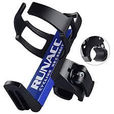 RUNACC Adjustable <b>Bike</b> Bicycle MTB <b>Water Bottle Holder</b> Rack