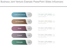 Joint Venture Process Flow Chart Business Joint Venture Example Powerpoint Slides Influencers