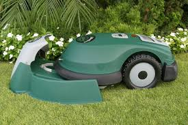 there are a few robotic lawn mowers to choose from but tertill is the first domestic