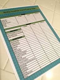 Monthly Budget Planning Planning A Monthly Budget