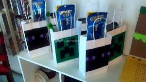 Minecraft Party Decorations Minecraft Party Diy Decorations Youtube