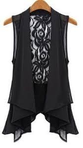 Zanzea® Sheer <b>Sleeveless Lace</b> Chiffon <b>Vest</b> Tops | Fashion ...