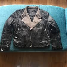 las luxury 100 pure sheep skin leather jacket brand new italian leightweight