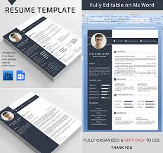 Word Resume Template Extraordinary 48 Professional MS Word Resume Templates With Simple Designs