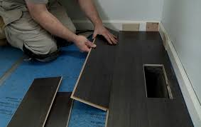 over concrete the family handyman chic installing laminate wood flooring how to install laminate flooring buildipedia