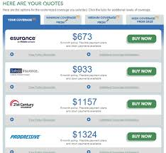 autoinsurance com quotes compare2win
