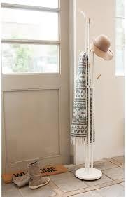 leitmotiv fusion coat rack white floor standing image 3