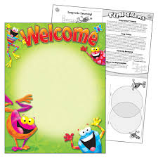 Welcome Chart Images T38413 Frog Tastic Welcome Chart