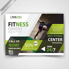 Fitness Flyer Template Vector | Free Download