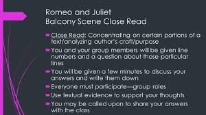 romeo and juliet balcony scene close  close  1 romeo and juliet balcony scene