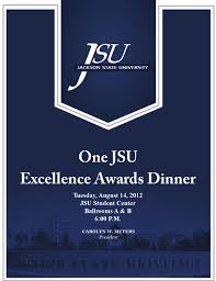 one jsu excellence awards by jackson state university issuu