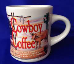 Get it while it's hot! Items In Blue Heaven Vintage Store On Ebay Cowboy Coffee Mugs How To Make Coffee