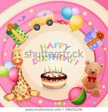birthday cake and balloons and gifts. Delighful Gifts Birthday Card With Birthday Cake Balloons And Gifts Inside Cake And Balloons Gifts C