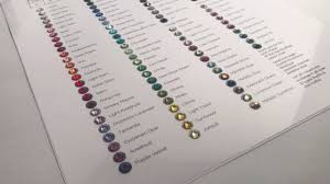 Swarovski Ab Color Chart Episode 24 How I Select My Swarovski Crystal Colors