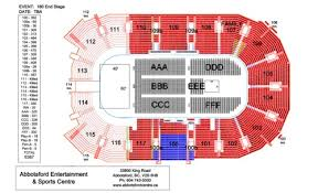 Abbotsford Centre Seating Chart Wiki Gigs Abbotsford Centre Arena