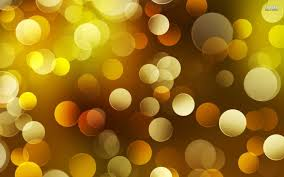 Yellow Bokeh Yellow Artwork Sparkle Wallpaper Gold