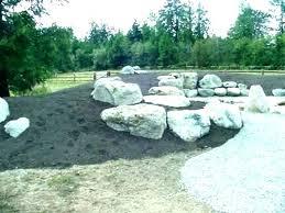 large rocks for landscaping garden big low maintena garden rocks