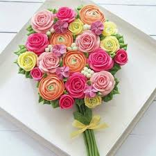 Blooming Roses Cupcake Bouquet Free Dubai Delivery Buy Now