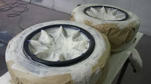 caterham r and academy racing blog  here are the wheels the tyres barrel and spokes masked up great attention