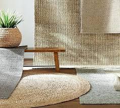 jute and wool rug chunky wool woven jute rug gray wool jute rug with border