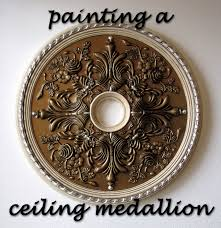 decor how to paint a ceiling medallions chandelier medallion home depot